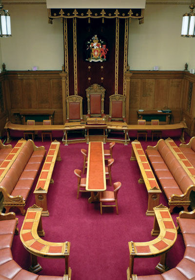 Bolton Council Chamber