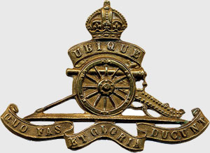 Artillery badge