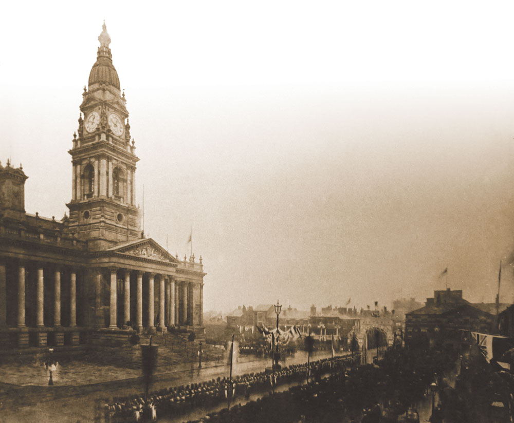 Opening of Bolton Town Hall 1973