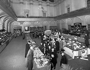 Vegetable Exhibition 1940s