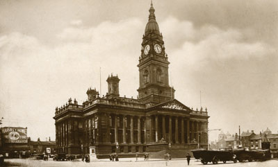 Bolton Town hall 1920s